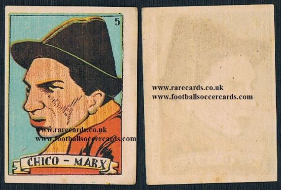 1930s Spanish Chico Marx Bros card